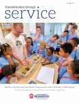 Transformation through Service cover